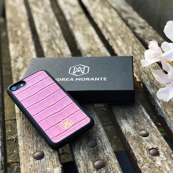 cover iphone 8 in vera pelle