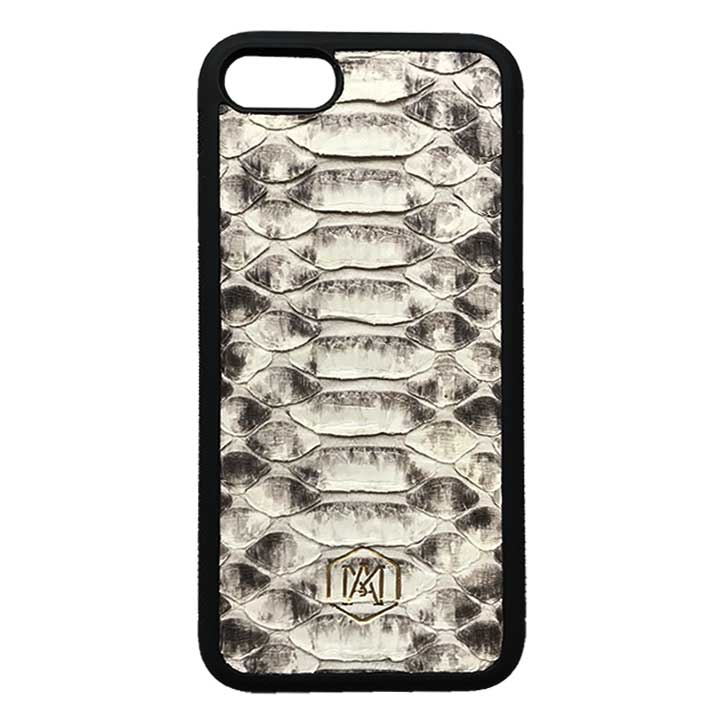 Cover iphone in vera pelle di pitone