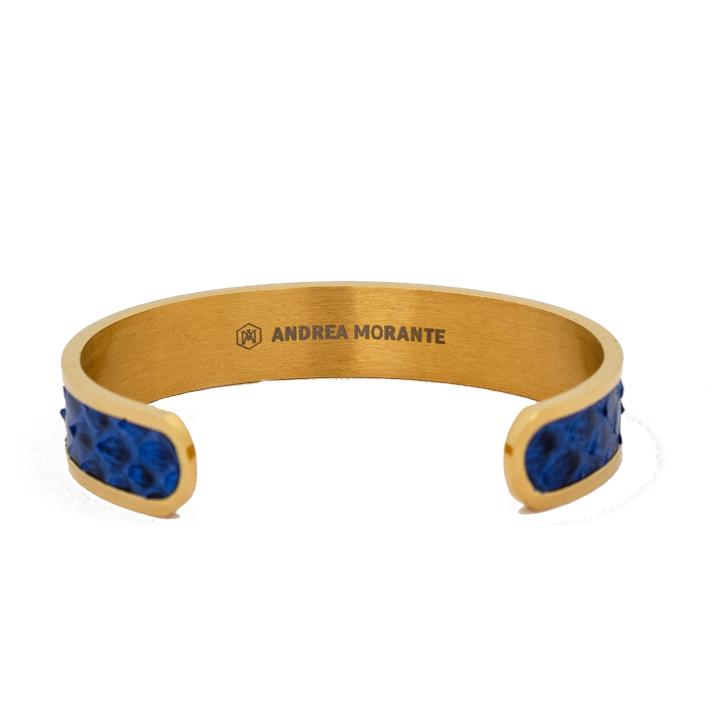 Bracciale oro e blu