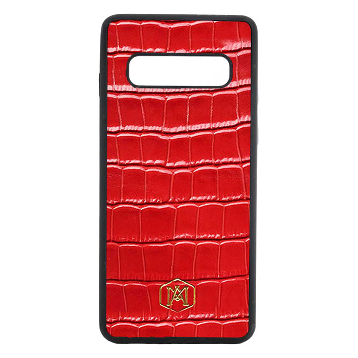 cover samsung s10 in pelle