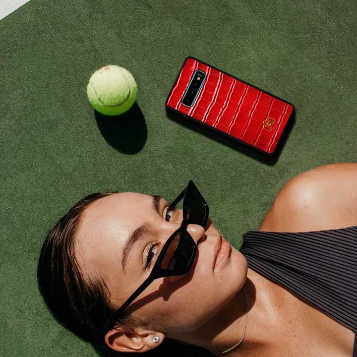 Cover rossa Samsung