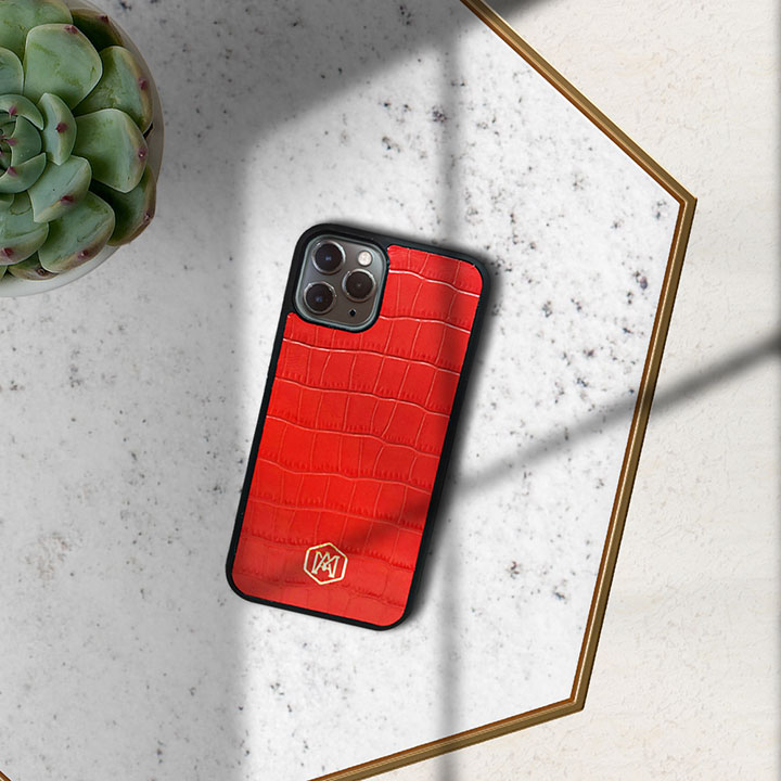 cover iphone 11 pro max in pelle