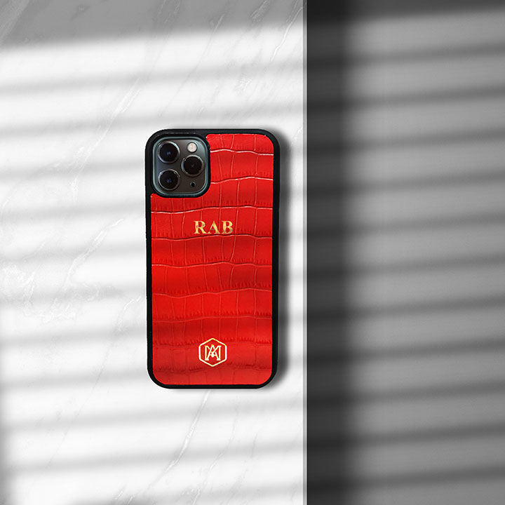 cover in pelle iphone