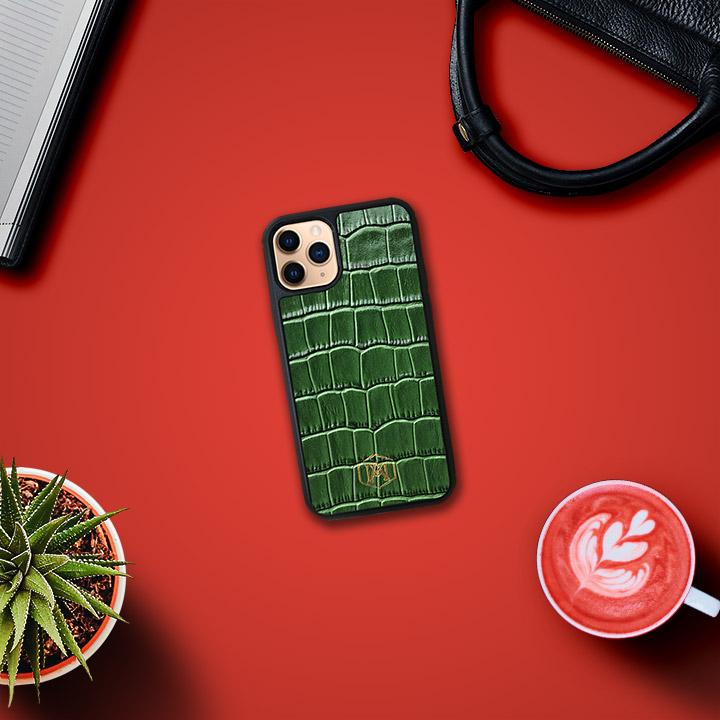 cover in vera pelle iphone 11 pro max