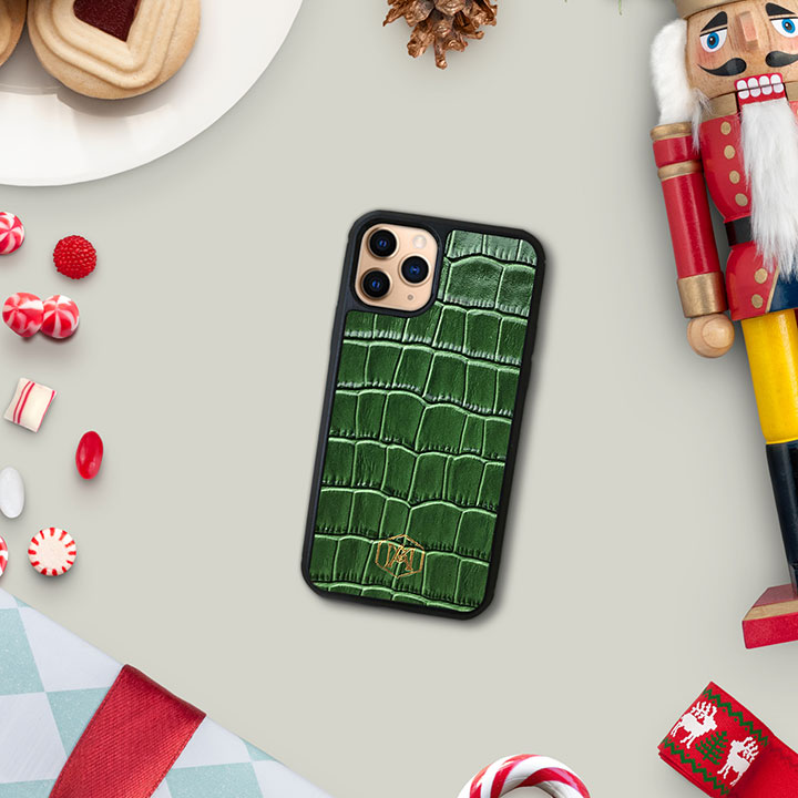 cover iphone 11 pro in pelle
