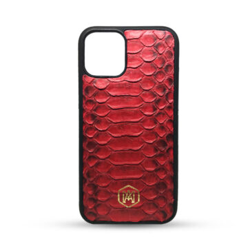 cover iphone 11 in pelle di pitone